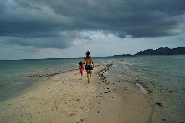 Koh Samui - bieg po plaży